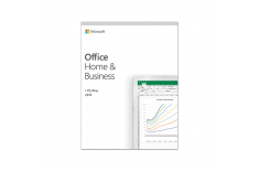 Microsoft T5D-03216 Office Home and Business 2019 Full packaged product (FPP), English, Medialess box