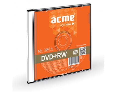 Acme DVD+RW 4.7 GB, 4 x, Plastic Slim Box