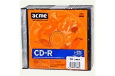 Acme CD-R 0.7 GB, 52 x, 10 Units Package in