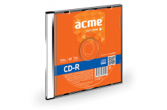 Acme CD-R 0.7 GB, 52 x, Plastic Slim Box