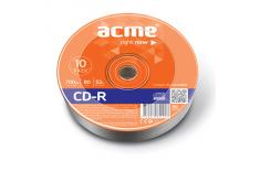 Acme CD-R 0.7 GB, 52 x, 10 Pack Shrink