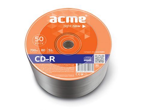 Acme CD-R 0.7 GB, 52 x, 50 Pcs. Shrink
