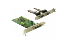 Logilink PC0018, PCI interface card, 2x com+ 1x lpt, 32 bit