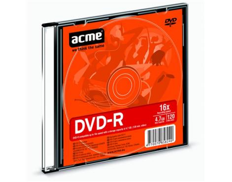 Acme DVD-R 4.7 GB, 16 x, Plastic Slim Box