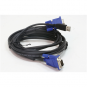 D-Link DKVM-CU KVM cable for connecting a keyboard, mouse and monitor, VGA, USB, 1.8 m, Black