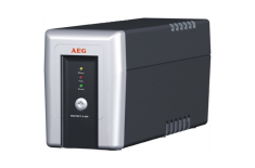 AEG UPS Protect A. 500, 500VA / 300W / 3x IEC-320 battery protected/ 1x IEC-320 overvoltage protection / Fax line protection / U