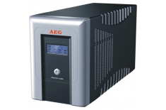 AEG UPS Protect A. 1000, 1000VA / 600W / 4x IEC-320 battery protected/ 2x IEC-320 overvoltage protection / Fax line protection /