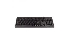 A4Tech Keyboard and mouse set, KR-85+OP-620D, multimedia, wired, Keyboard layout EN/RU, USB