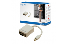 Logilink Mini DisplayPort to VGA Adapter: HD DSUB 15-pin FM, Mini DisplayPort M