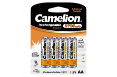 Camelion AA/HR6, 2700 mAh, Rechargeable Batteries Ni-MH, 4 pc(s)