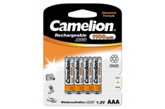 Camelion AAA/HR03, 1100 mAh, Rechargeable Batteries Ni-MH, 4 pc(s)