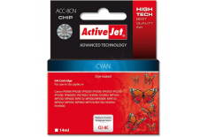 Action ActiveJet ACC-8CN (Canon CLI-8C) Ink Cartridge, Cyan