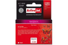 Action ActiveJet ACC-8MN (Canon CLI-8M) Ink Cartridge, Magenta