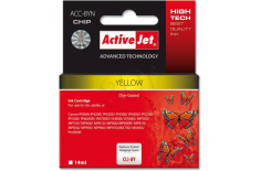 Action ActiveJet ACC-8YN (Canon CLI-8Y) Ink Cartridge, Yellow