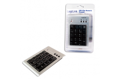 Logilink Numeric Keypad USB Multimedia, Wired, 1.5
