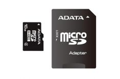 A-DATA 16GB microSDHC Card (Class 4) with 1 Adapter, retail
