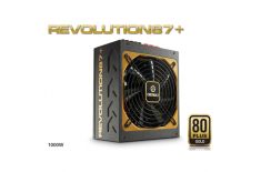 Enermax Modulare PSU Revolution 87+, 1000 W 80PLUS Gold/DXXI/ Modular/ ATX v2.3/ Magnetic Bearing 135mm FAN/ Active PFC/ Black