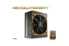 Enermax Modulare PSU Revolution 87+, 1000 W 80PLUS Gold/DXXI/ Modular/ ATX v2.3/ Magnetic Bearing 135mm FAN/ Active PFC/ Black