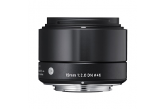 Sigma 19mm F2.8 DN for Sony Nex, Black [Art]