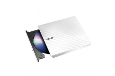 Asus SDRW-08D2S-U Lite Interface USB 2.0, DVD RW, CD read speed 24 x, CD write speed 24 x, White, Desktop/Notebook
