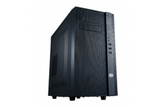 Cooler Master N200 USB 3.0 x1, USB 2.0 x2, Mic x1, Spk x1, Black, Mini-Tower, Power supply included No