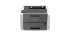 Brother HL-3140CW Colour, Laser, Printer, Wi-Fi, A4, Black/Ivory
