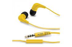ACME HE15Y Groovy in-ear headphones with mic
