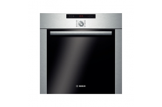 Bosch Oven HBA74R252E 60 L, Stainless steel, Pyrolytic, Rotary, Height 59.5 cm, Width 59.5 cm, Multifunctional