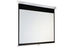 Elite Screens M119XWS1 Manual Pull Down Screen 119& 39 & 39 1:1 / Diagonal 297,5cm, W 213,4cm x H 213,4cm / MaxWhite/ White case