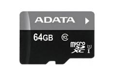 ADATA Premier UHS-I 64 GB, MicroSDXC, Flash memory class 10