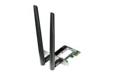 D-LINKDWA-582, Wireless 802.11n Dual Band PCIe desktop adapter, PCIe x1, fit standard PCIe x1/x4/x8/x16 slots, Up to 300 Mbps da