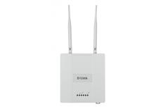 D-Link DAP-2360 Wireless N PoE Access Point 802.11b/g/n, Web-based management, 300 Mbit/s