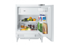 Candy CRU 164E Built-in, Fridge-freezer, Height 82 cm, A+, Fridge net capacity 100 L, Freezer net capacity 17 L, 43 dB, White