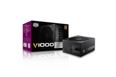 Cooler Master V Series, Fully modular cable design, 80 PLUS Gold certified 1000 W, (996W on +12V) W, 996 W