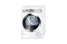 Bosch Dryer WTY87859SN Condensed, Heat pump, 9 kg, Energy efficiency class A++, Self-cleaning, White, Depth 63.4 cm, LED,