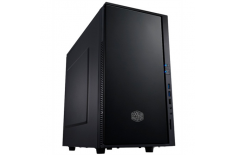 Cooler Master SILENCIO 352 MATTE, Mini tower, black w/o PSU, micro-ATX