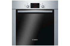 Bosch Oven HBA63S251S 63 L, Stainless steel, Pyrolytic self-cleaning function, Height 59.5 cm, Width 59.5 cm, Built-in Multifunc