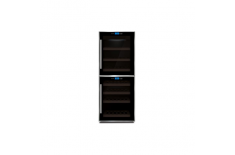 Caso Wine cooler WineMaster Touch 38-2D Free standing, Table top, Bottles capacity 38, Black