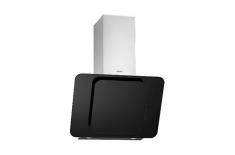 Cata ADARI 60 Black Glass Wall hood ,,BusStop& 39 & 39 type, 1000kub.m.,2x50W adjustable intensity halogens, TouchControl&Timer,