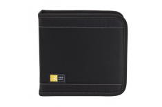 Case Logic CD Wallet Nylon, 16 discs, Black