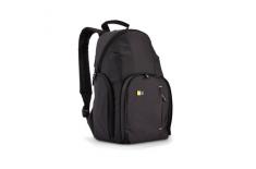 Case Logic TBC411K Compact DSLR Backpack/ Dobby Nylon/ Fits Devices: 19.1 x 13 x 19.1 cm, Black