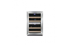 Caso Wine cooler Wine Duett 12 Free standing, Table, Bottles capacity 12, Stainless Steel
