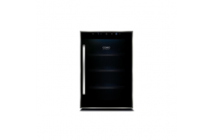 Caso Wine cooler WineDuett Touch 12 Free standing, Table top, Bottles capacity 12, Black