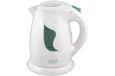Adler AD 08 Cordless Water Kettle, White