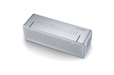 Microlab T5 Bluetooth Portable Speaker/ Silver/ 20W RMS (10W+10W)/ Metal Shell Microlab 2.0, 20 W