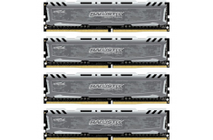 Crucial 16 Kit (4GBx4) GB, DDR4, 2400 MHz, PC/server, Registered Yes, ECC No