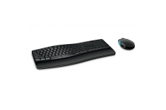Microsoft L3V-00009 Sculpt Comfort Desktop Multimedia, Wireless, Keyboard layout EN, Black, Numeric keypad