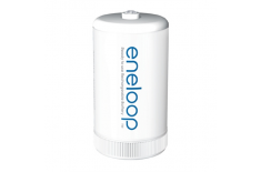 Panasonic eneloop Battery adapter 2 blister D size