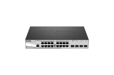 D-Link Metro Ethernet Switch DGS-1210-20/ME Managed L2, Rack mountable, 1 Gbps (RJ-45) ports quantity 16, SFP ports quantity 4,