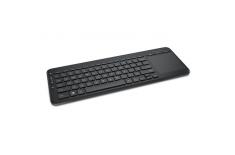 Microsoft N9Z-00009 All-in-One Media Keyboard Multimedia, Wireless, Keyboard layout DA/FI/NO/SV, Black, Nordic, 434 oz